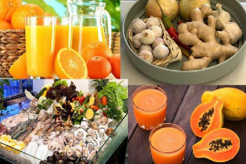 Thực phẩm hỗ trợ ngăn ngừa virus corona